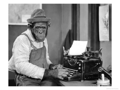 292603chimpanzee-at-typewriter-posters