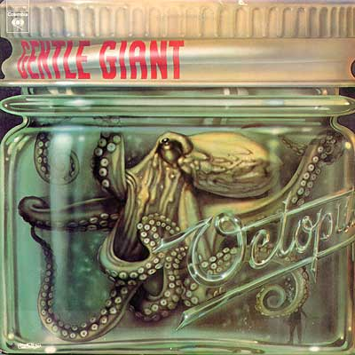"One of my all-time favorite LPs, Gentle Giant's ""Octopus"""