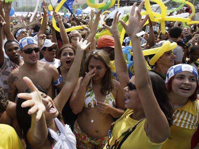 Party Over There: Rio Celebrates Victory