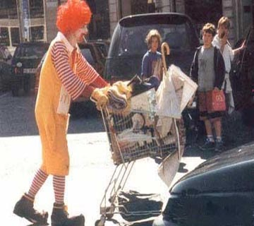 Ronald Told That He Deserves a Break Today